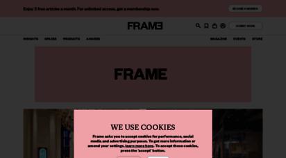 frameweb.com - home - frameweb