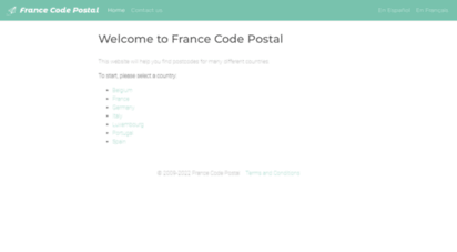 france-codepostal.fr - worldpostcodes.info