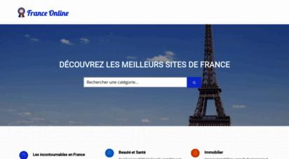 franceonline.fr - 1pro : création site internet