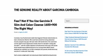 garcinia cambogia cleanse wonder