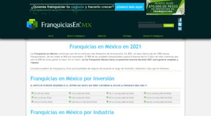 franquiciasen.mx - franquicias en méxico en 2020  franquiciasen.mx