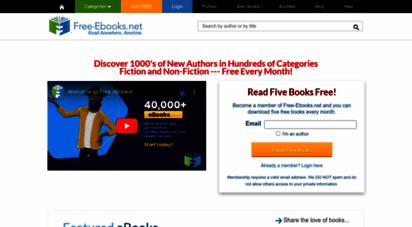 free-ebooks.net - free-ebooks.net  download free fiction, health, romance and many more books