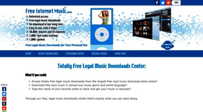 free-internet-music.com