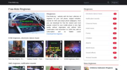 free-mobi.org - free mobile content ringtones wallpapers games - freemobi