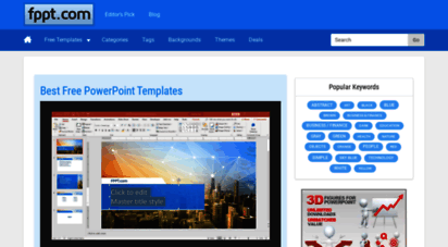 free-power-point-templates.com - 12,435 free powerpoint templates and slides by fppt.com
