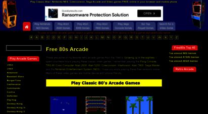 free80sarcade.com