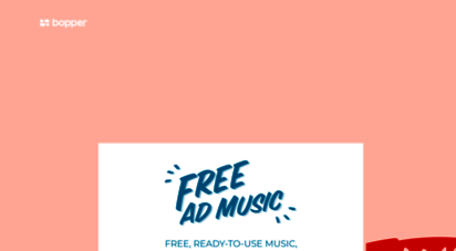 freeadmusic.com - free advertising music - free, ready to use music, made for advertising.