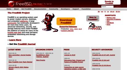 freebsd.org - the freebsd project