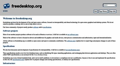 freedesktop.org - www