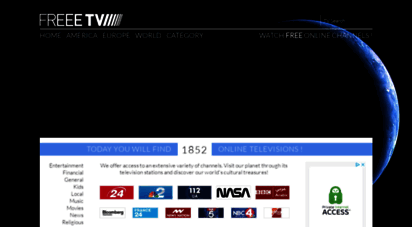freeetv.com - freeetv.com - the full & most complet online tv guide