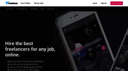 freelancer.com - hire freelancers & find freelance jobs online  freelancer