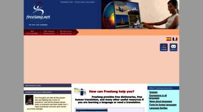 freelang.net - freelang - free dictionaries to download and free human translation