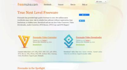 freemake.com - freemake - best freeware alternatives to paid video software