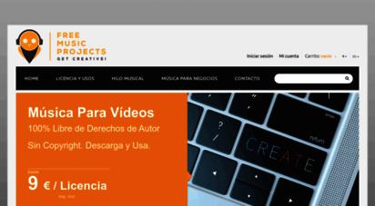 freemusicprojects.com - música libre de derechos - free music projects - música sin derechos de autor
