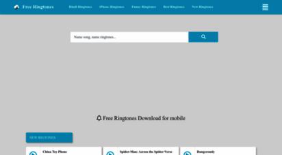freeringtonesmobile.net - free ringtones download for mobile  best ringtones