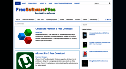 freesoftwarefiles.com - free software files - latest pc software reviews and free downloads