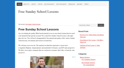 Welcome to Freesundayschoollessons org - Free Sunday School