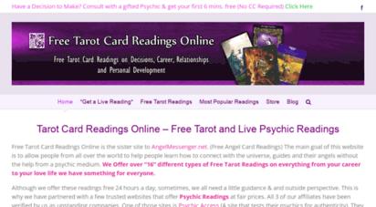 Welcome to Freetarotcardreadingsonline com - Tarot Reading | Free