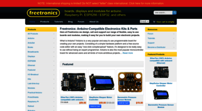 freetronics.com.au - parts & kits for arduino online, buy microcontroller boards, electronic components for arduino - freetronics