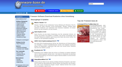 freeware-base.de - freeware-base.de - freeware software download kostenlos: you are using an invalid ip