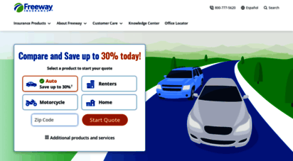 freewayinsurance.com - freeway insurance: cheap car insurance, home insurance and more