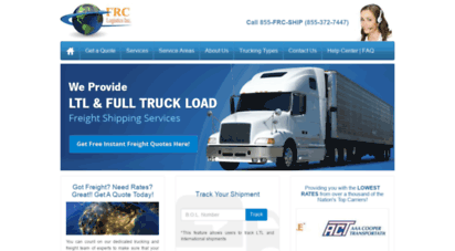 Welcome to Freightratecentral com - Freight Rates: Full