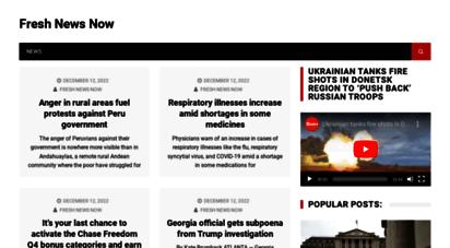 fresh-news-now.com - fresh news now