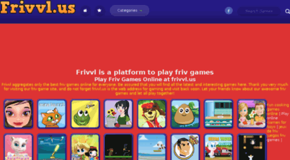 Welcome to Frivvl us - Friv Games Online - Frivvl us
