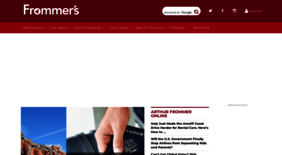 frommers.com - frommer´s travel guides: trip ideas, inspiration & deals
