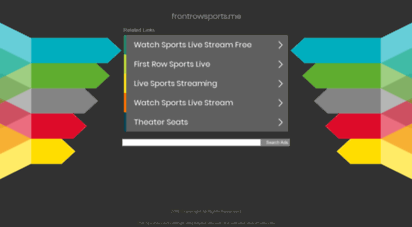 frontrowsports.me - front row sports video streaming
