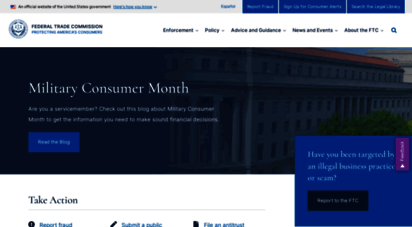 ftc.gov - federal trade commission  protecting america´s consumers