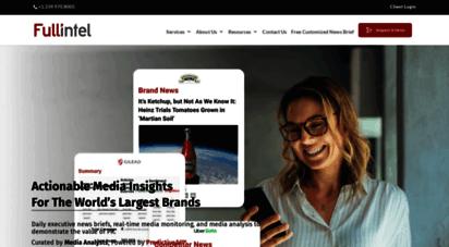 fullintel.com - fullintel  human-curated media monitoring and intelligence