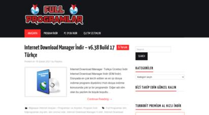 fullprogramlar.org - program indir - full programlar