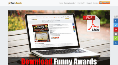 Welcome to Funawards com - Funny Awards - Silly Awards