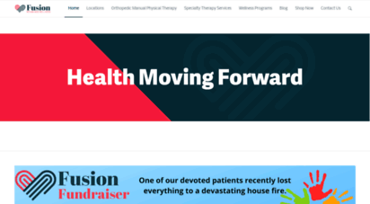 fusionpta.com - welcome  fusion wellness & rehab