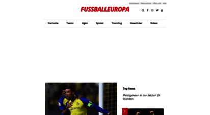 fussballeuropa.com - fussball europa