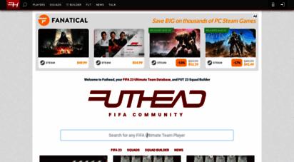 futhead.com - fifa 20 ultimate team database, players & squad builder  futhead