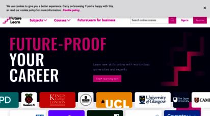 futurelearn.com - free online courses from top universities - futurelearn