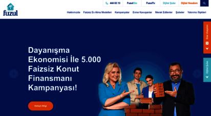fuzulev.com - faizsiz peşinatsız kredisiz ev alma sistemi - fuzul ev