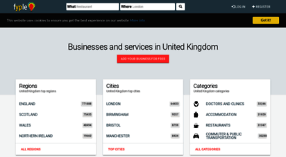 fyple.co.uk - find businesses and services in united kingdom