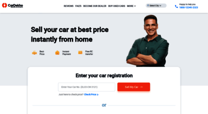 gaadi.com - 𝗖𝗮𝗿𝗗𝗲𝗸𝗵𝗼 𝗚𝗮𝗮𝗱𝗶 𝗦𝘁𝗼𝗿𝗲 - sell used car online & get instant payment