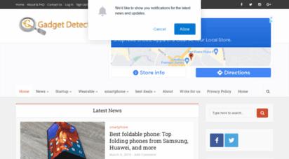 gadgetdetected.com - gadget detected - tech & startup news