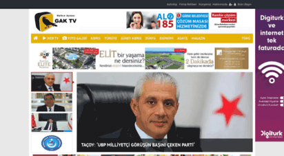 gaktv.com - ana sayfa - gak tv