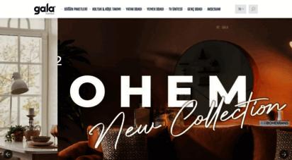 galamobilya.com - ana sayfa - gala mobilya