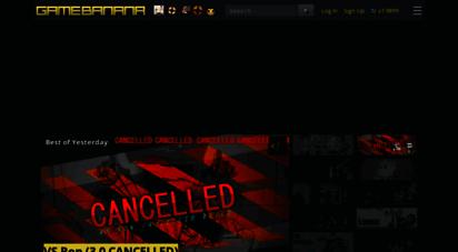 gamebanana.com - gamebanana  the game modding community - since 2001