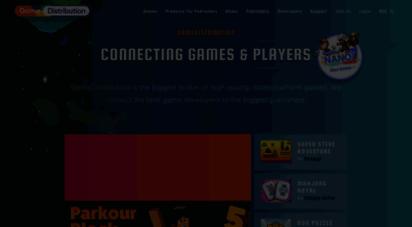 gamedistribution.com - html5 games for websites and messengers - gamedistribution