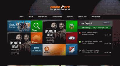 gameonlivesports.com.au