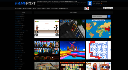 gamepost.com - gamepost.com - free online games - play a mini game now!