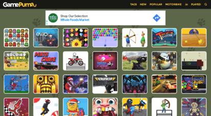 gamepuma.com - free online games - gamepuma.com