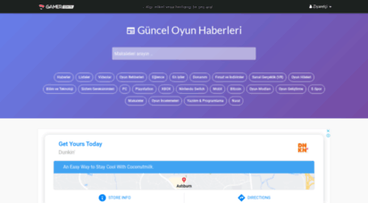 gamer.com.tr - oyun haber ve incelemeleri  gamer.com.tr